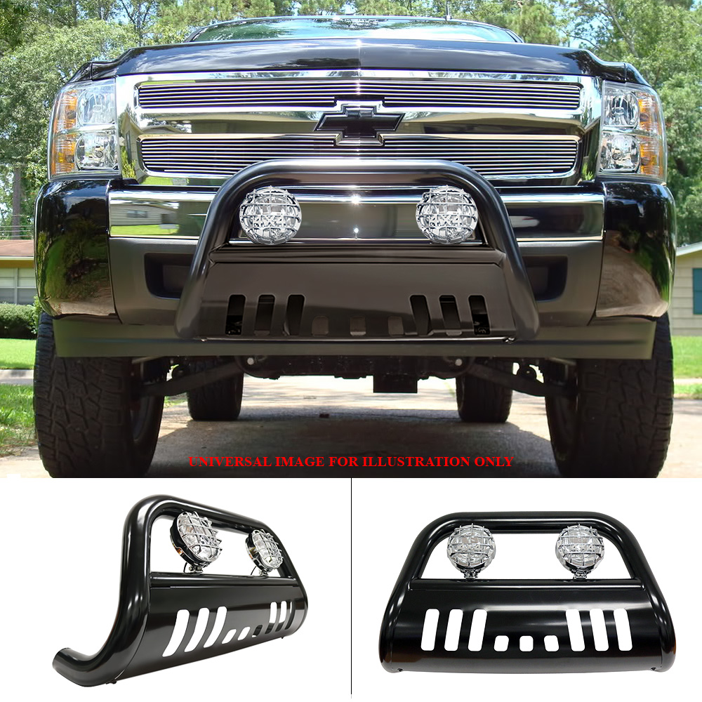 Bliz B C Push Combo Bull Bar Light For 05 14 Nissan