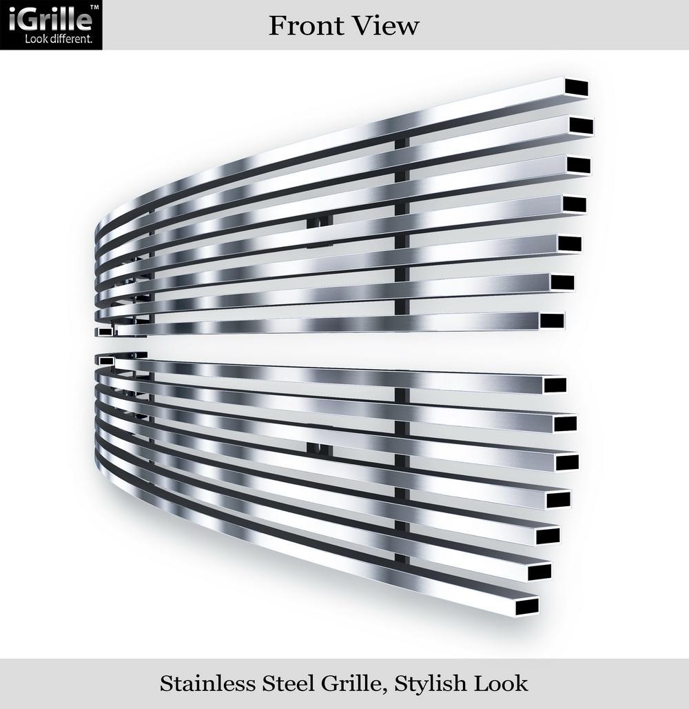 fit 1999 2002 chevy silverado 1500 00 06 tahoe stainless steel billet grille ebay