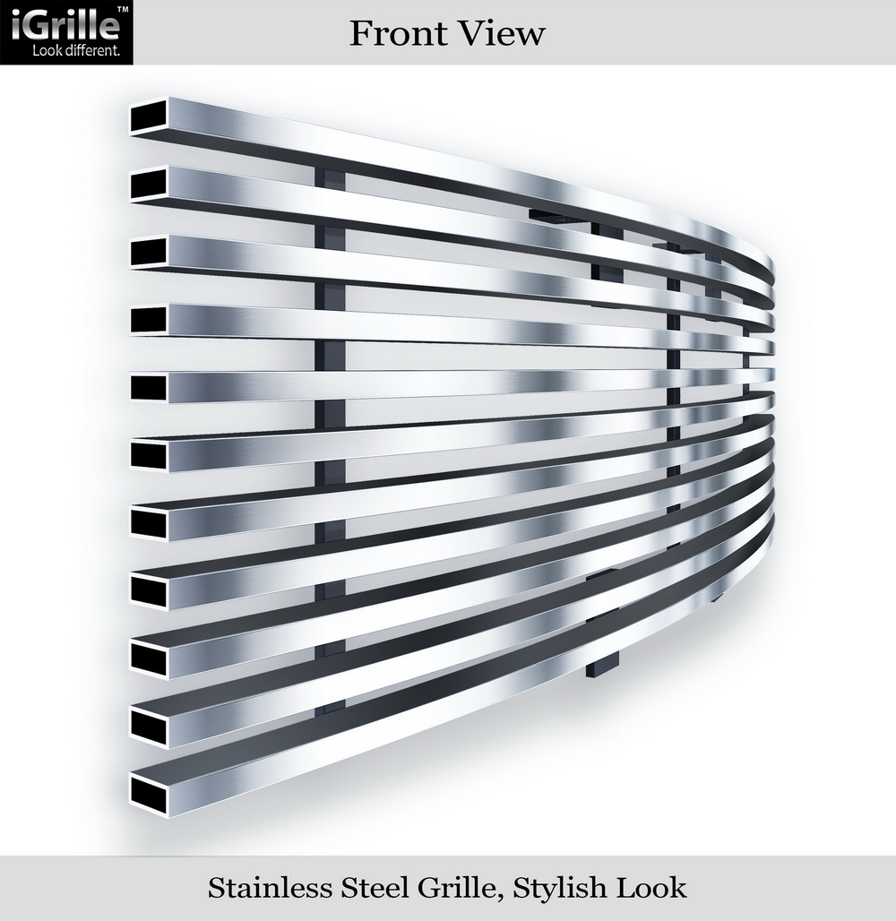 New billet grilles stainless steel  ford f