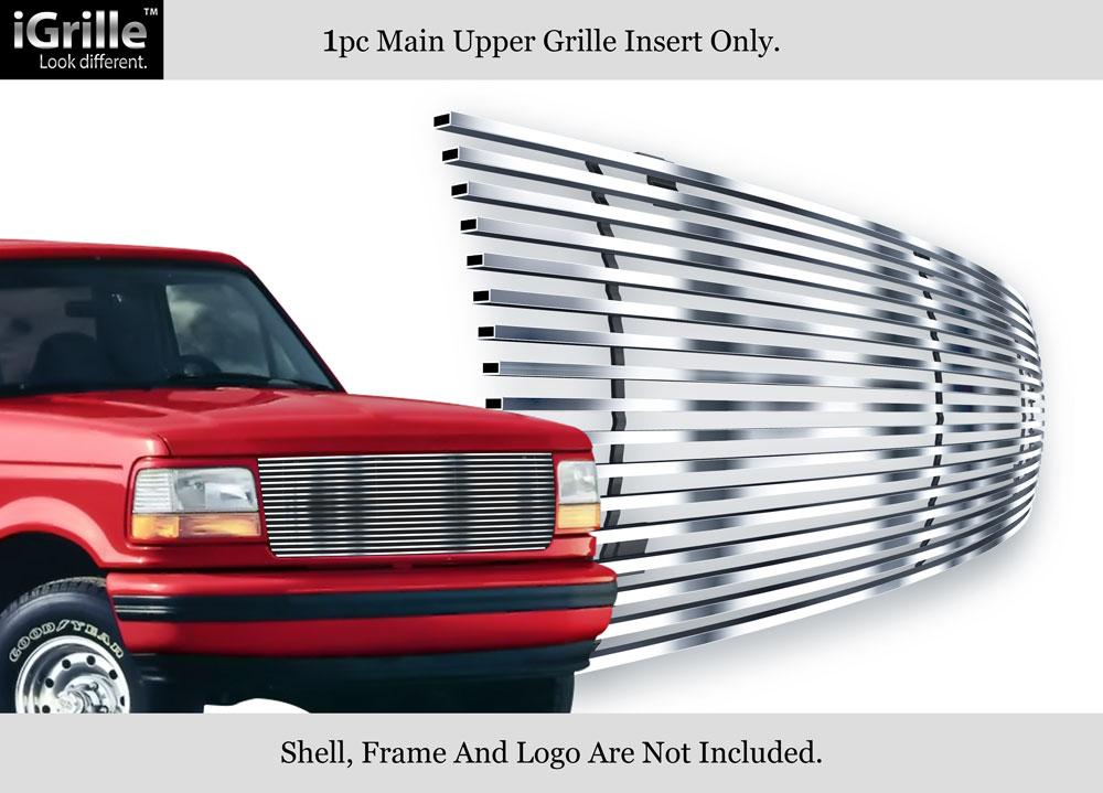 premium 304 stainless steel billet grille 92 96 ford. Black Bedroom Furniture Sets. Home Design Ideas