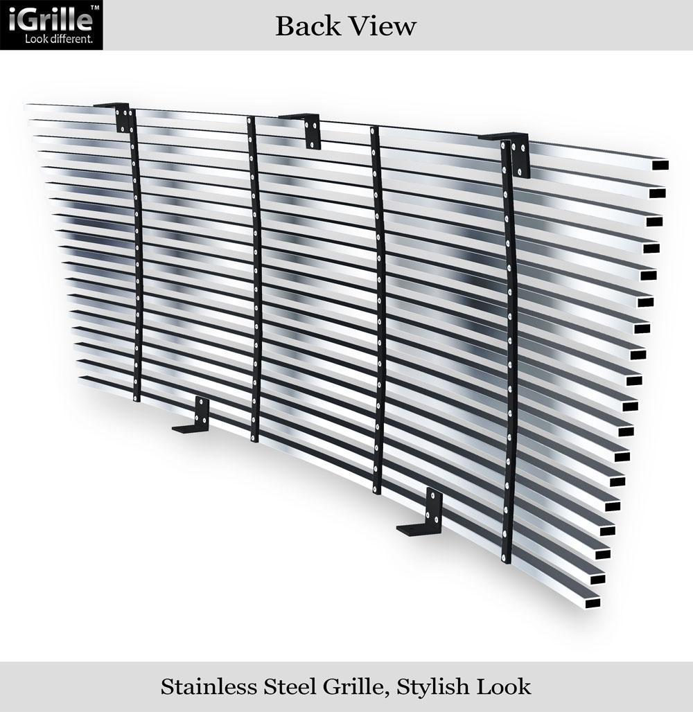 Fits 2004 2005 ford ranger all model stainless steel billet grille insert ebay - All stainless steel grill ...