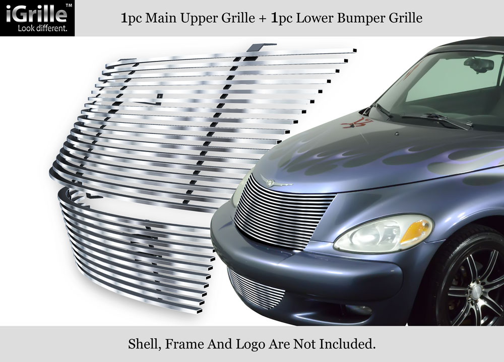 fits 00 05 chrysler pt cruiser 304 stainless steel billet. Black Bedroom Furniture Sets. Home Design Ideas