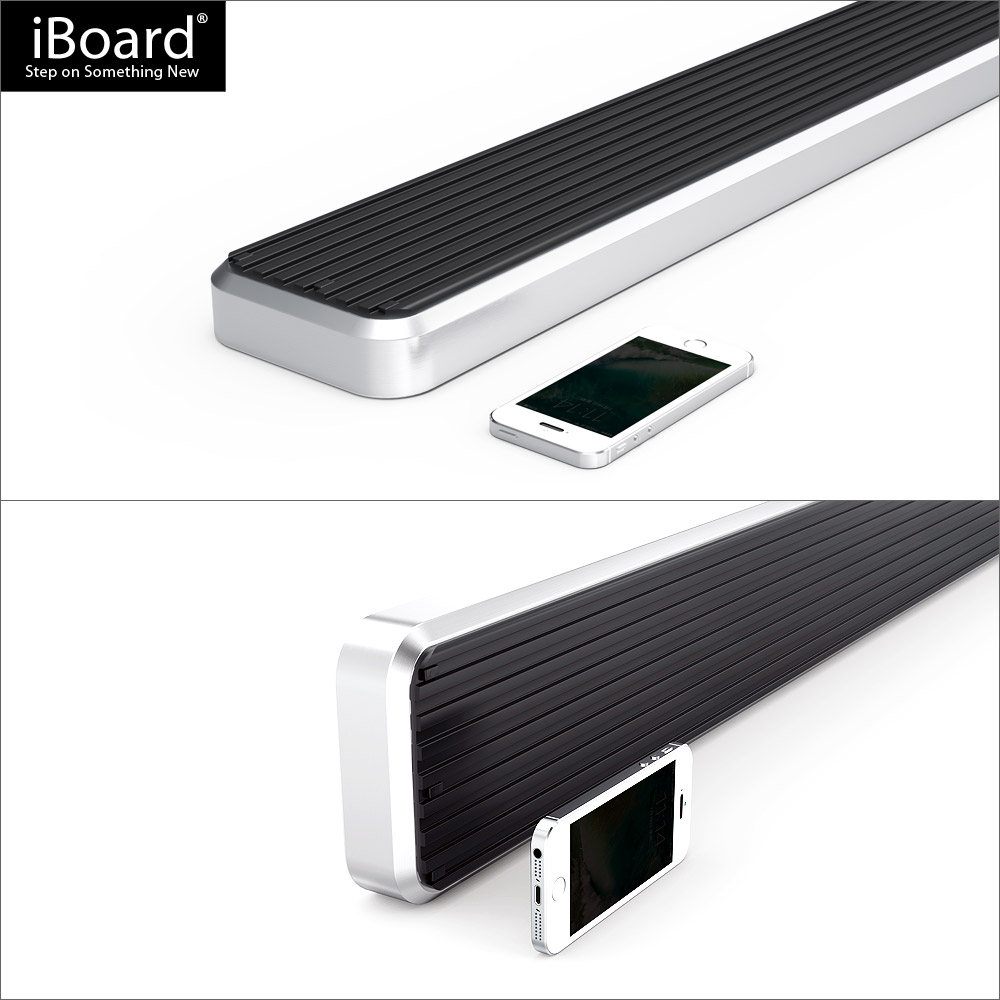 """5"""" IBoard Running Boards Fit 07-10 Acura MDX"""