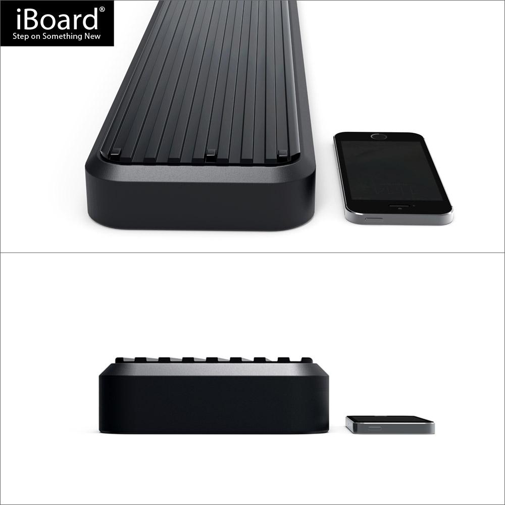 premium 5 black iboard running boards fit 07 17 toyota. Black Bedroom Furniture Sets. Home Design Ideas