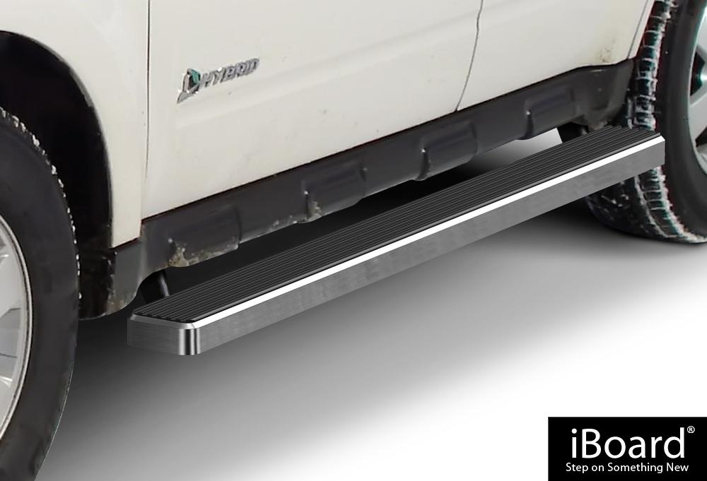 iboard running boards 4 fit 08 12 ford escape mazda tribute ebay. Black Bedroom Furniture Sets. Home Design Ideas