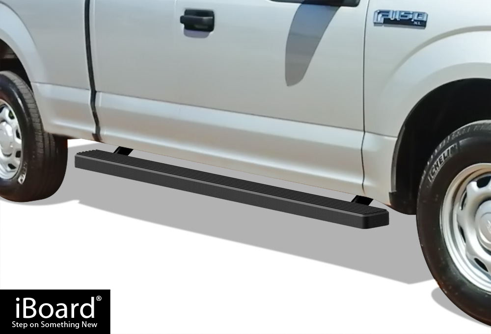 iboard running boards 4 fit 15 17 ford f150 super cab. Black Bedroom Furniture Sets. Home Design Ideas