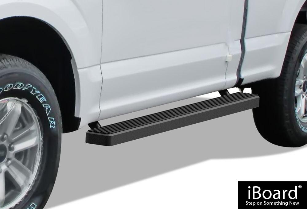 iboard running boards 4 fit 15 17 ford f150 regular cab. Black Bedroom Furniture Sets. Home Design Ideas