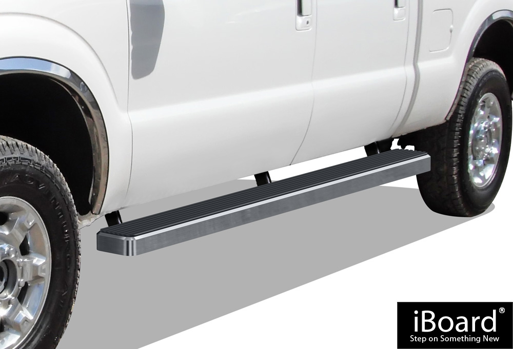 iboard running boards 5 fit 99 16 ford f250 f350. Black Bedroom Furniture Sets. Home Design Ideas