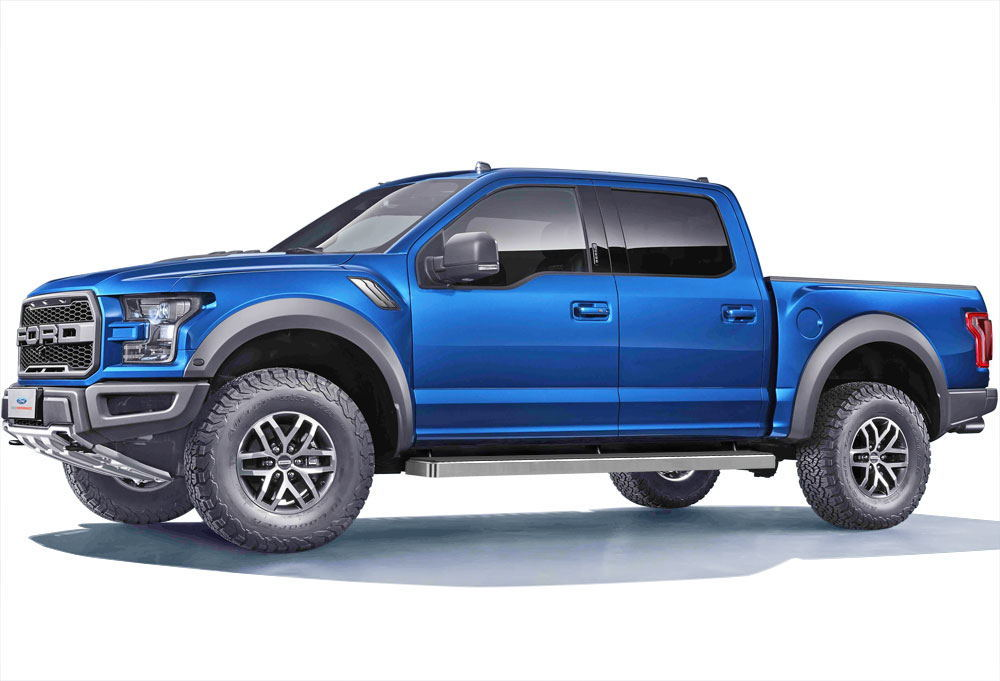 iboard running boards 6 fit 15 17 ford f150 supercrew cab. Black Bedroom Furniture Sets. Home Design Ideas