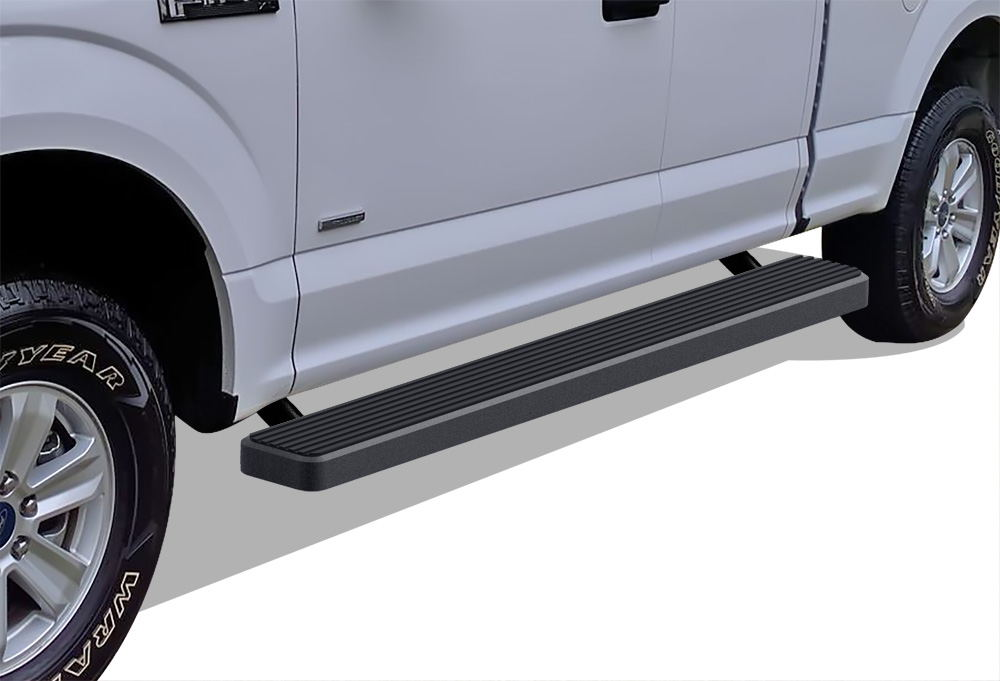 iboard running boards 6 fit 15 17 ford f150 super cab. Black Bedroom Furniture Sets. Home Design Ideas
