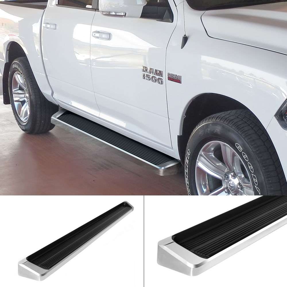 """4 Inch Running Boards Side Step For Ram 1500 2500 3500: IBoard Running Boards 6"""" Fit 09-17 Dodge Ram 1500/2500"""