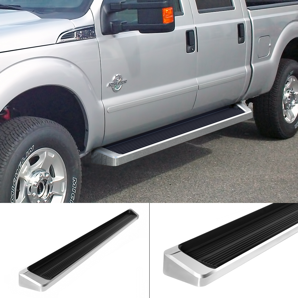 IBoard Running Boards Style Fit 99-16 Ford F250/F350/F450