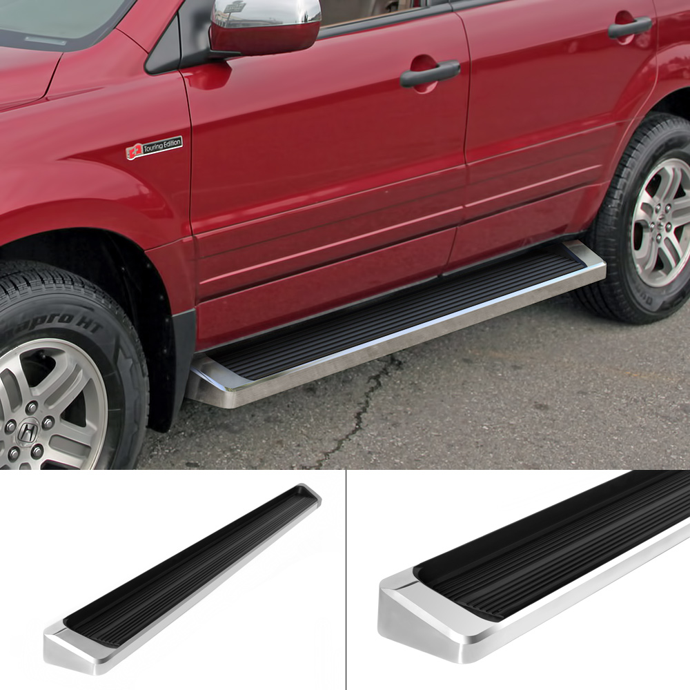 "6 Iboard Running Boards Nerf Bars Fit 06 08 Dodge Ram: IBoard Running Boards 6"" Fit 03-08 Honda Pilot Acura MDX"