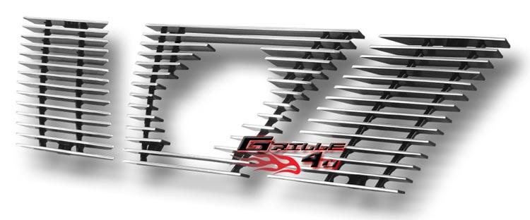 Fits 2005-2008 Nissan Xterra Main Upper Billet Grille Insert