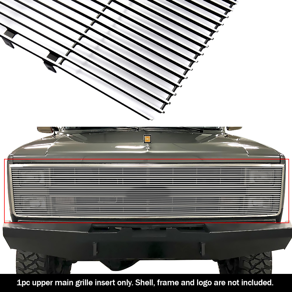Details about For 81-87 Chevy GMC Pickup/Suburban/Blazer/Jimmy Phantom  Billet Grille Grill 90