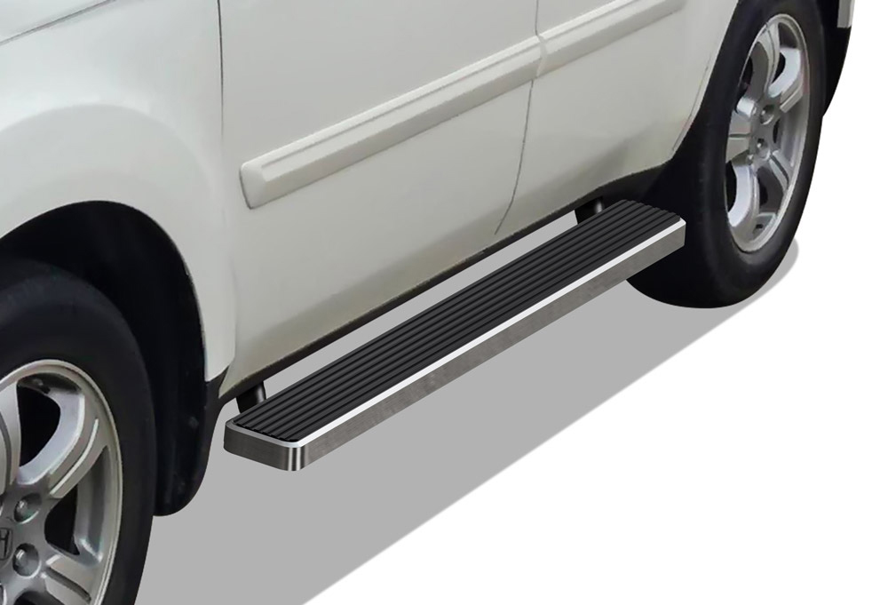 "iBoard Running Boards 4/"" Fit 84-00 Jeep Cherokee 4-Door"