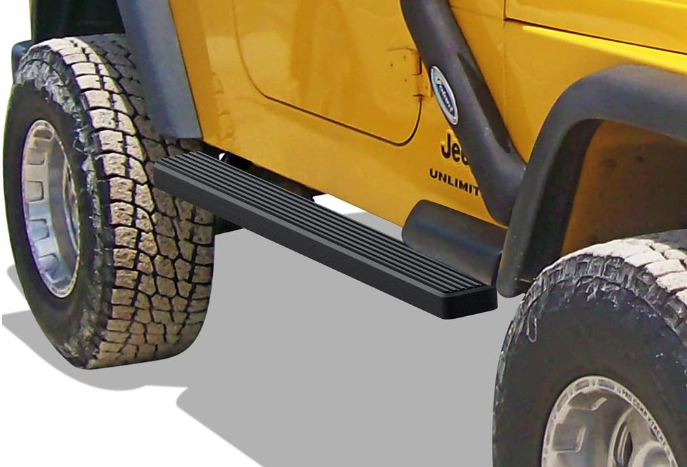 "4/"" eBoard Running Boards Fit Jeep Wrangler TJ//YJ 2Dr 87-06"