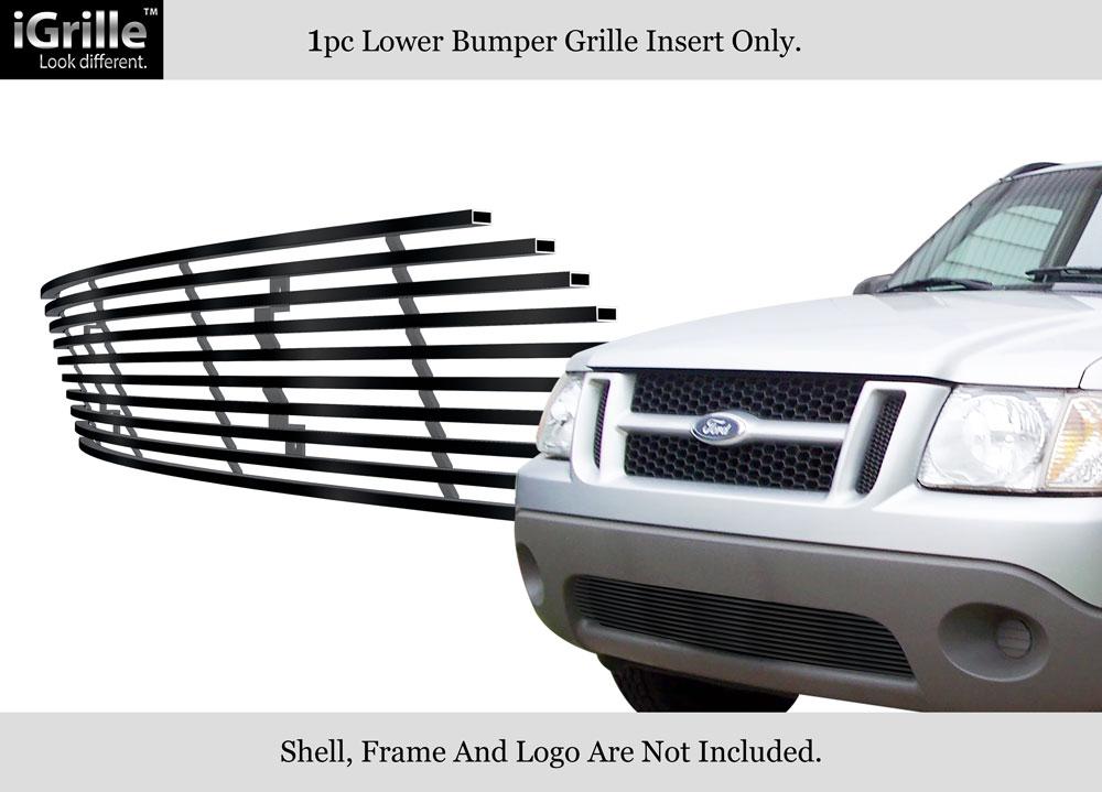 fits 01 05 ford explorer sport trac bumper stainless steel billet grille 647297018570 ebay. Black Bedroom Furniture Sets. Home Design Ideas