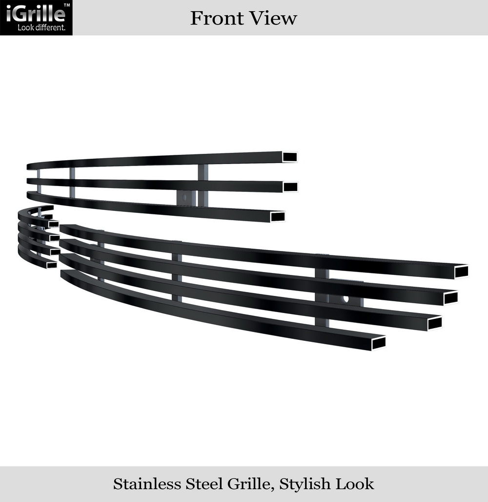 Fits 05-06 Volvo XC90 Lower Bumper Stainless Steel Billet Grille Insert