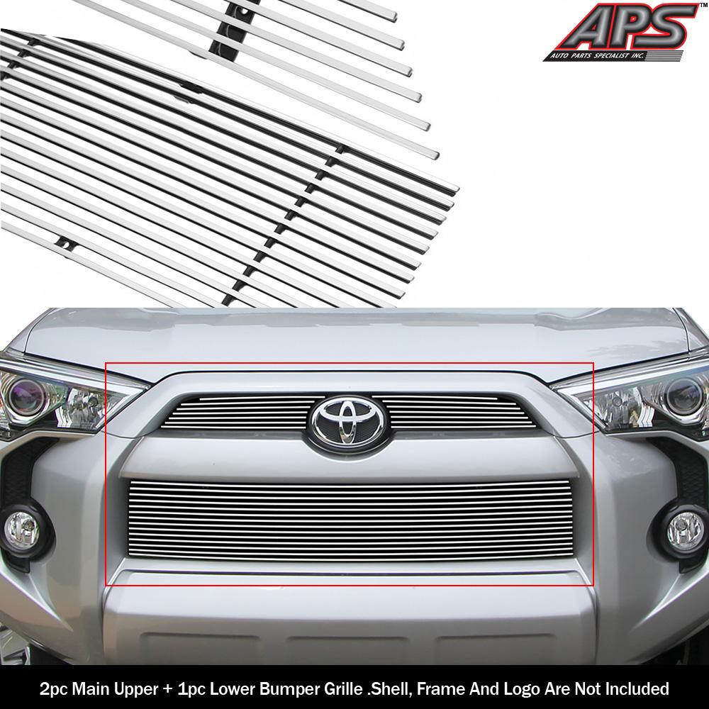Fits 2014-2019 Toyota 4Runner Reg Model Billet Grille