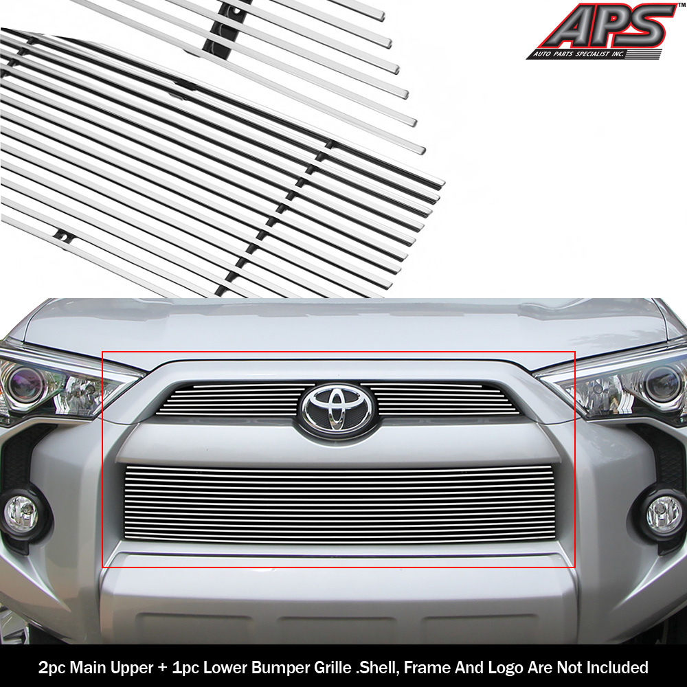 Top 100 2019 4runner Concept: Fits 2014-2019 Toyota 4Runner Reg Model Billet Grille