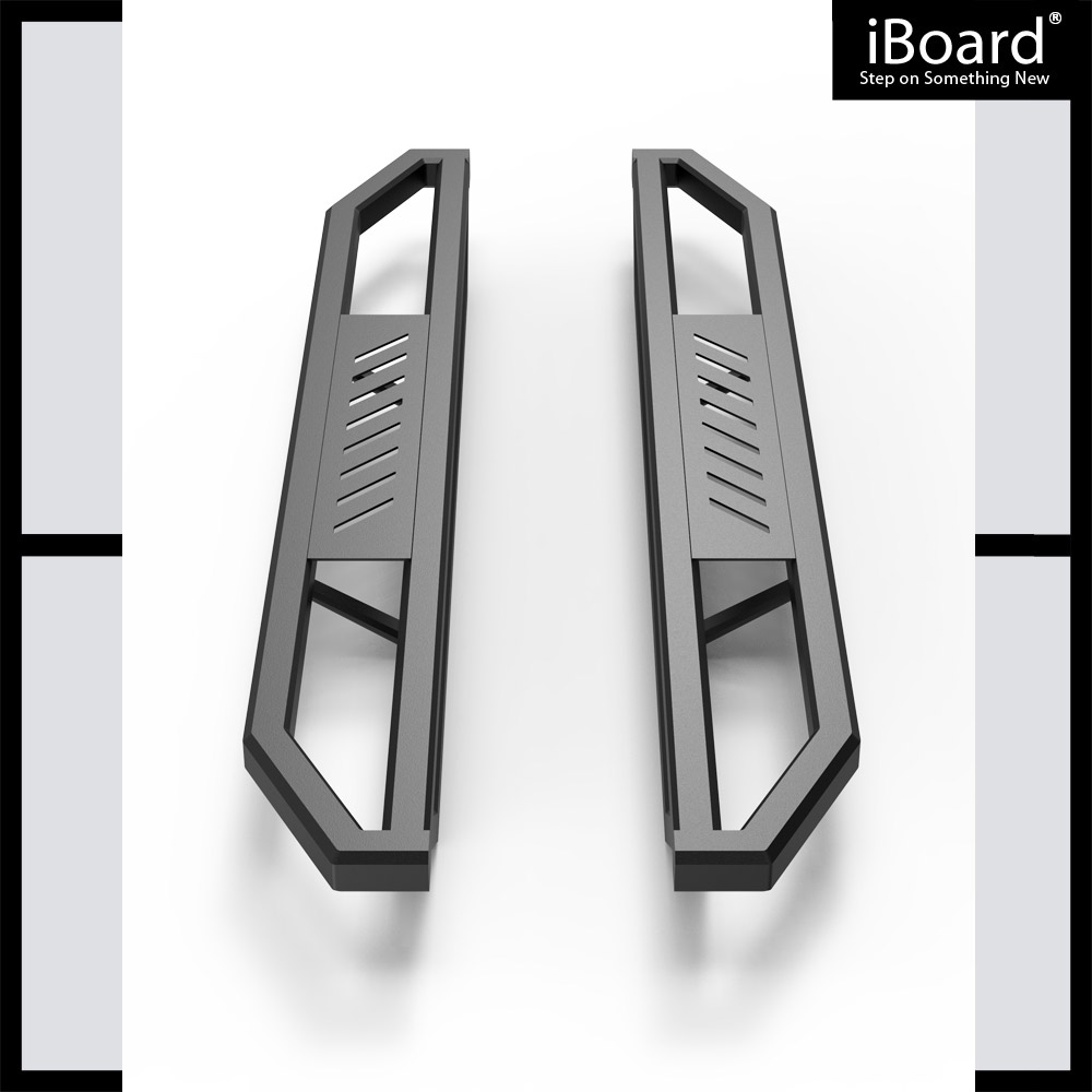 "IArmor 6.5"" Side Steps Side Armor Square For 99-16 Ford"