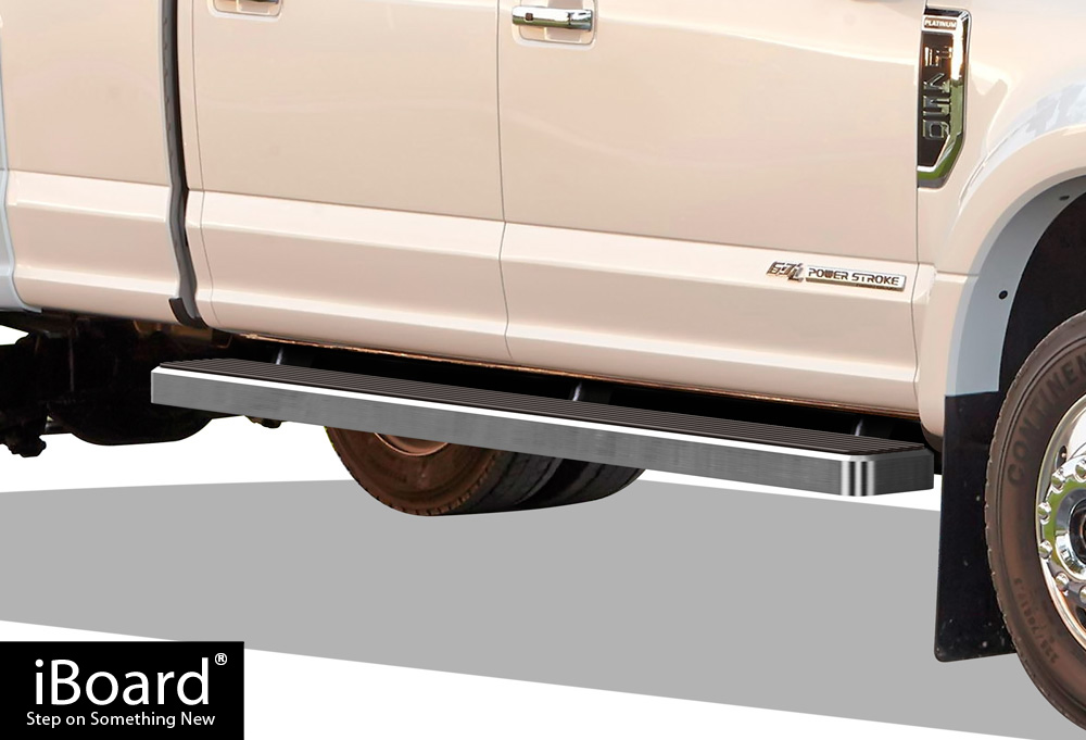 iboard running boards 6 fit 99 16 ford f250 f350. Black Bedroom Furniture Sets. Home Design Ideas