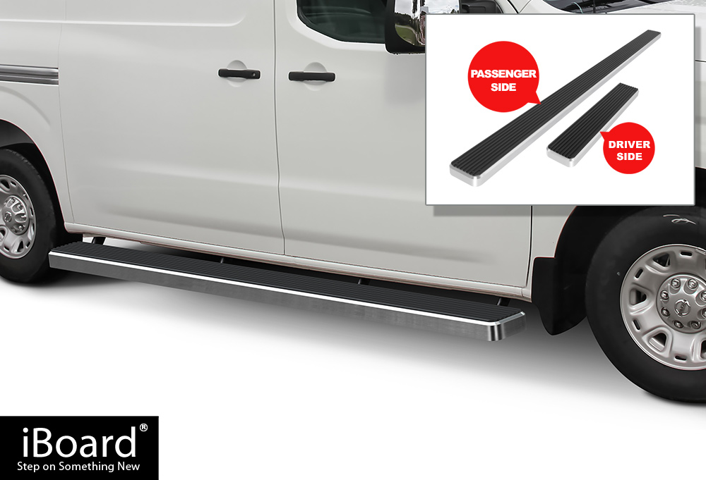 Image Is Loading IBoard Running Boards 6 034 Silver Fit 12