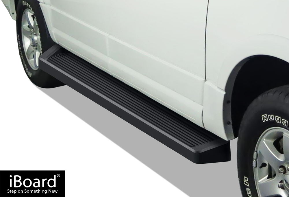 APS Premium 6in Black iBoard Running Boards Custom Fit 97-17 Ford Expedition SUV 4-Door