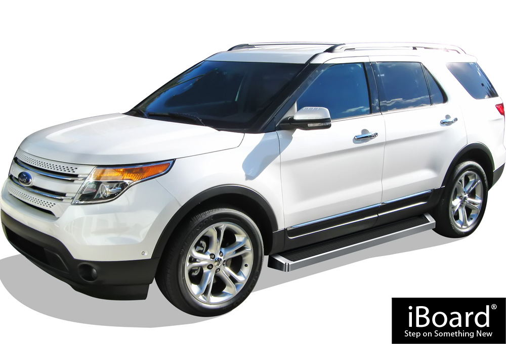 IBoard Running Boards 6 Fit 11 17 Ford Explorer 4 Door IB FR927A