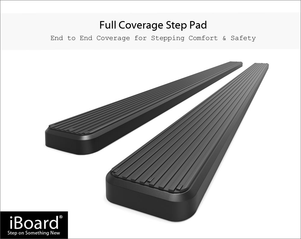 iBoard Running Boards 5in Black Fit 00-20 Chevy Avalanche Suburban GMC Yukon XL   eBay