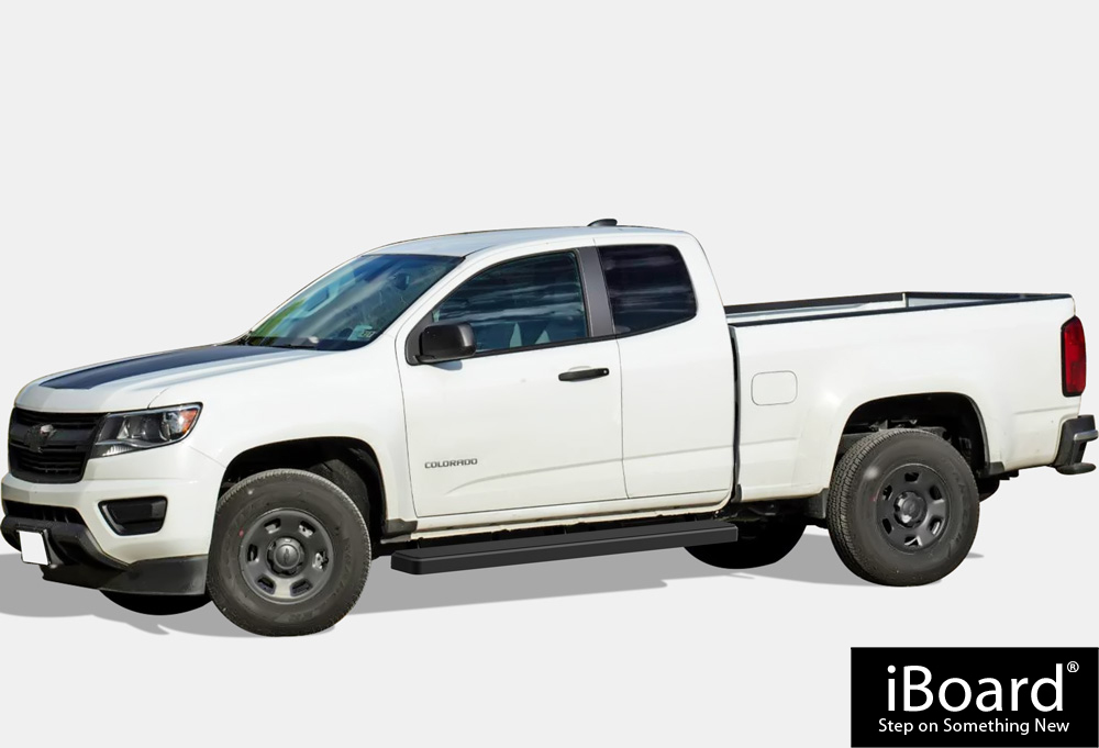 Iboard Running Boards 5 Quot Black Fit 15 17 Chevy Colorado