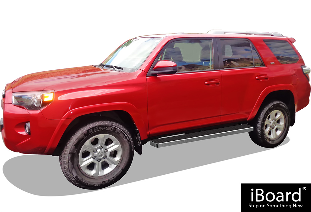Iboard Running Boards 5 Quot Fit 10 18 Toyota 4runner Trail