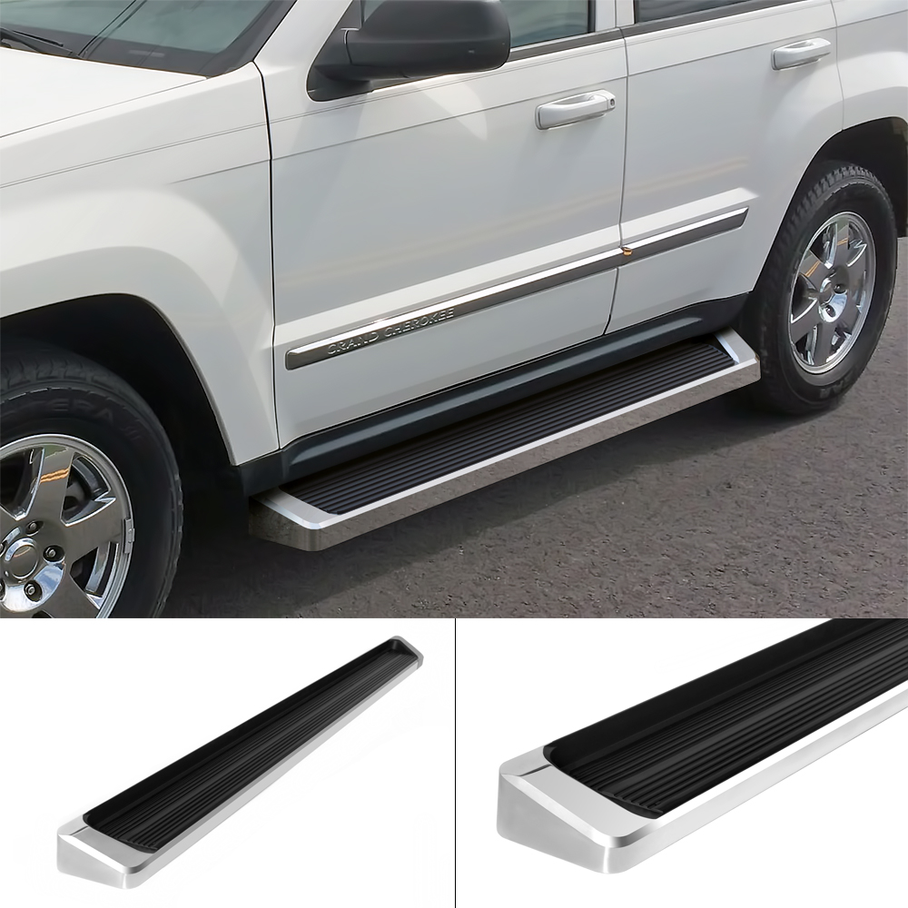"iboard running boards 6"" fit 05-10 jeep grand cherokee / commander"